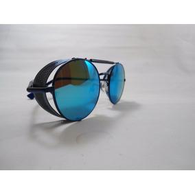 27f84177b2ace Óculos Sol Antigo Dourado Lente Redonda Vintage Motociclista. 5. 33  vendidos - São Paulo · Óculos De Sol Para Motociclista Com Proteção  Lateral. R  99
