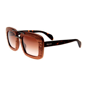 b2f9443d23970 Oculos Prada Madeira - Óculos no Mercado Livre Brasil