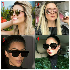 6f97ddacda7bf Oculos Redondo Grande Retro Feminino - Óculos no Mercado Livre Brasil
