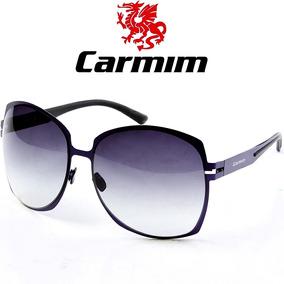 b30845f4c61e0 Óculos De Sol Feminino Carmim - Óculos no Mercado Livre Brasil