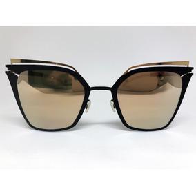 e68e983692d24 Oculos Mykita Dourado De Sol - Óculos no Mercado Livre Brasil