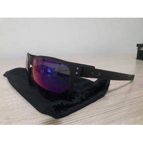261739adf9029 Óculos De Sol Oakley Holbrook Metal Preto roxo 004123-0255