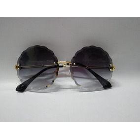 8e56d5badadd6 Oculos Redondo Lente Transparente Colorida De Sol - Óculos no ...