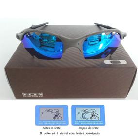 1540a2139d2df Juliet Azul Escuro - Óculos De Sol Oakley Juliet no Mercado Livre Brasil