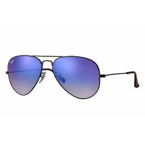 31dde7fca7275 Ray Ban Top Aviador Azul Espelhado Gradiente Degrade Origina
