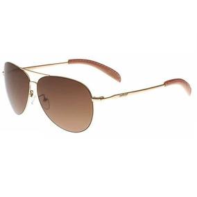 c4dce827d3e1c Oculos De Sol Infinity Dourado Com Lentes Marrom Degrade - Óculos em ...