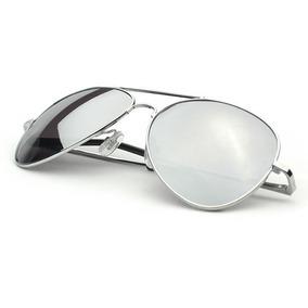 60dc468f4ad3a Ray Ban Aviador 3024 Prata Lentes Espelhadas Frete Gratis - Óculos ...
