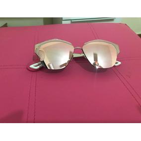 a3745c72fec48 Oculo Redondo Espelhado Rosa Outros Oculos Dior De Sol - Óculos no ...