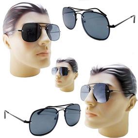 4d3ff60c49256 Oculos De Sol Da Moda Quadrado De Homem - Óculos no Mercado Livre Brasil