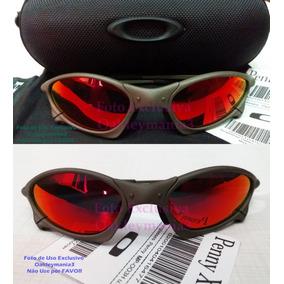 b5f79d333bb7c Oculo Oakley Lente Vermelha Original - Óculos no Mercado Livre Brasil