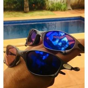 c344aa07e Óculos Importado Espelhado Jacquard Azul Juliet Romeo Barato
