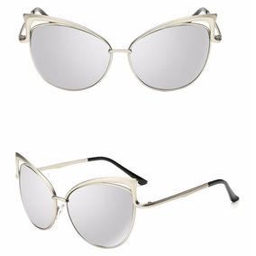 02d7925d0646a Óculos De Sol Cateye Espelhado - Óculos no Mercado Livre Brasil