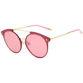 821c798c4ac2a Óculos De Sol Ana Hickman Ah 3085 Dourado  Vermelha Oculos - Óculos ...