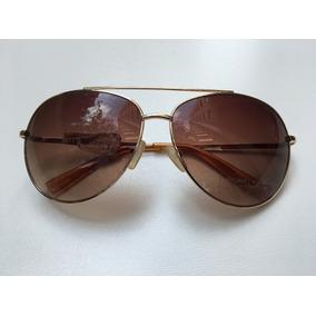 daf12d2008c86 Óculos De Sol Michael Kors Dylan Aviador Dourado M2066s - Óculos no ...