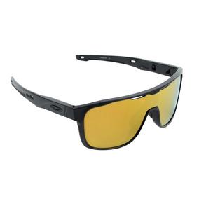 766a842471ece Óculos Oakley Crossranger Shield 24k Iridium Preto Matte