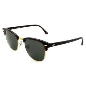 0d970997b3fe7 Óculos De Sol Ray Ban Rb3016 W0366 51d 21 3n Clubmaster - Óculos De ...