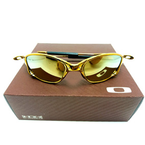 2c3d1fa477e88 Oakley Juliet Serie Ouro 24k Cara Mundo - Óculos De Sol Oakley no ...