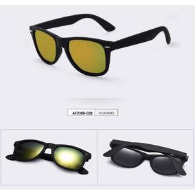 f7fc8454b3bc9 Óculos De Sol Espelhado Aofly - Lentes Douradas Polarizadas