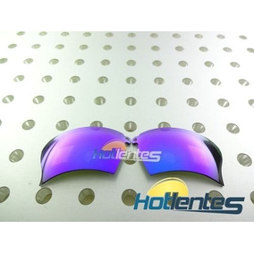 cd7961aa8f0e8 Lente Violet Purple Parriot Para Oakley Thump Pro + Brindes