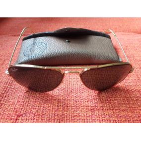 0f987e2c56d36 Óculos Antigo De Sol Ray Ban Bl Raro Leia Descrição