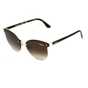3b6a7761d Dourado 848 Vogue Vo3814 Marrom - Óculos no Mercado Livre Brasil