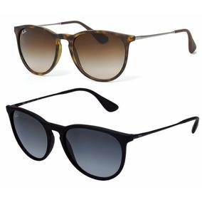 4e22364b7ea0f Oculos Rayban Segunda Linha - Óculos De Sol Ray-Ban Erika no Mercado ...