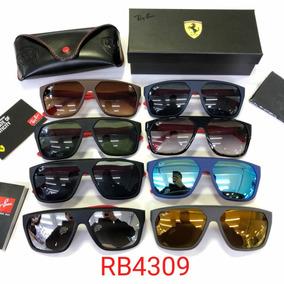 b0facfcdc Ray Ban Rb4309 Ferrari Na Caixa Várias Cores Envio Imediato