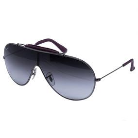 94764bdf73d9d Óculos De Sol Ray Ban Original Máscara Rb3416 - Prata