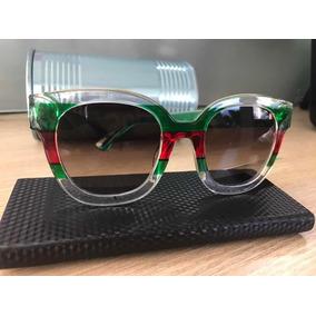 7af564e14bade Oculos Gucci Feminino Espelhado Colorido De Sol - Óculos no Mercado ...