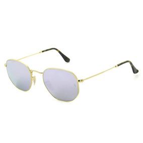 5dc4196d0778e Oculos De Sol Retr Hexagonal - Óculos no Mercado Livre Brasil