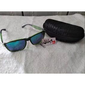 e62a7b819feb9 Óculos De Sol Masculino Estilo Quiksilver Verde-lima