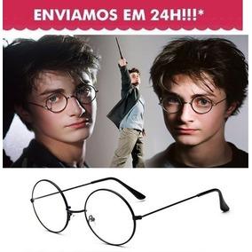 4bcfe91468326 Armação Metal Óculos Redondo Retrô John Lennon Harry Potter