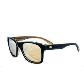 92cc40f1ab672 Óculos De Sol Hb Unafraid Preto Dourado Polarizado Original