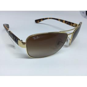 c1b9a3415f262 Ray Ban Rb3508 001 13 Dourado Tam 56 Novo Original - Óculos no ...
