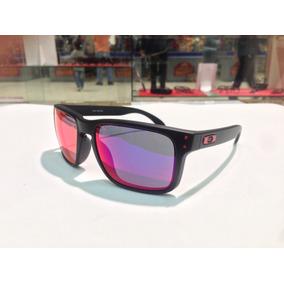 2b3fd5cb64562 Red Iridium Oakley Holbrook Oo9102 36 Matte Black De Sol - Óculos no ...
