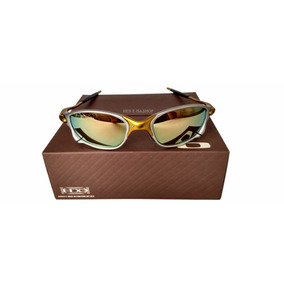 8bb91a8a7be69 Oculos Double Xx 24k Dourada +lentes+borracha+chave+teste