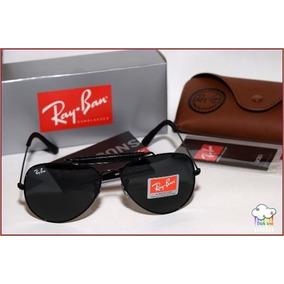fd4073b9e86e1 Oculos Rayban Cacador Couro - Óculos no Mercado Livre Brasil