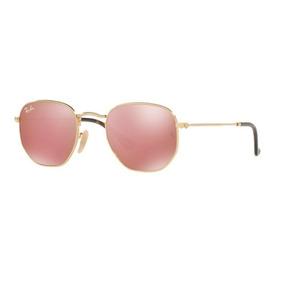 e39515b2cd868 Oculos Redondo Espelhado Rosa Ray Ban - Óculos De Sol no Mercado ...