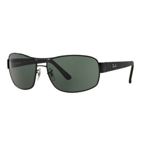 c54d8bc2c8156 Oculos Sol Ray Ban Rb3503l 006 71 66mm Preto Lente Verde G15