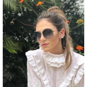 940102997629b Oculo Sol Feminino Moda 2018 De - Óculos no Mercado Livre Brasil
