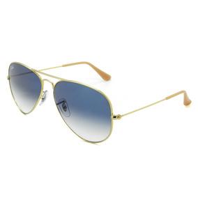 8509b3829 3f Original Ray Ban 3025 Large Metal Lente Azul Degrade 001 - Óculos ...