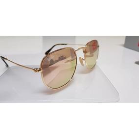 32e07b94f3f96 Oculos Rayban Hexagonal Lente Vermelha - Óculos no Mercado Livre Brasil