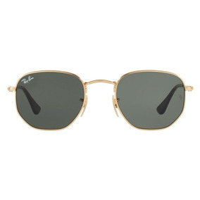 1461324c8ef96 Ray Ban Hexagonal Flat Lens - Óculos no Mercado Livre Brasil
