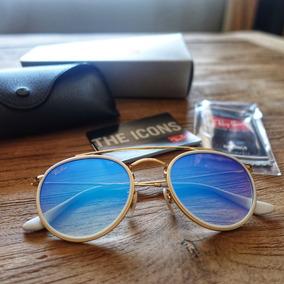 fed47e3fe1bf4 Oculos De Sol Ray Ban Round Rb3647 Original Lancamento 2018