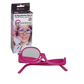 e32ba8d850f21 Óculos Led Lente De Aumento Em 3x Maquiagem Sobrancelha C4