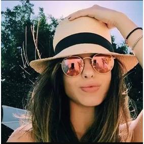 75de20325609e Óculos Feminino Redondo Espelhando Colorido Lançamento. R  45