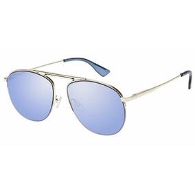 13dea60ddb5ea Le Specs Liberation Dourado Lente Azul Lsp1702025