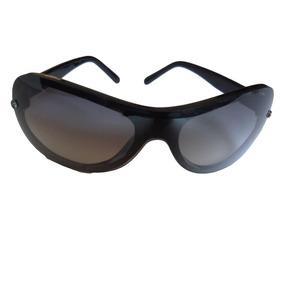e033ebe053fb2 Oculos De Sol Máscara Importado Usa Preto Gradiente Usado