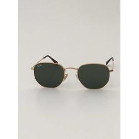 c083301bf6040 Oculos Hexagonal Tamanho 54 - Óculos De Sol