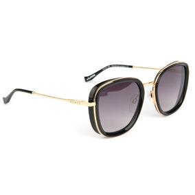 3495dc21533ce Óculos De Sol Evoke Amplidiamond Preto Logotipo Dourado - Óculos no ...